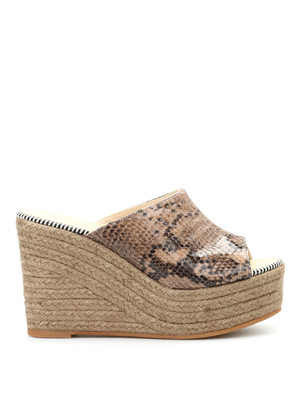 Espadrilles: mules shoes online - Flash Wet open toe mules