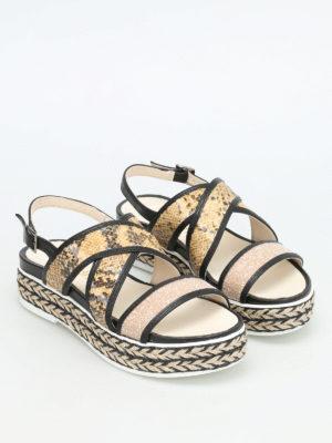 Espadrilles: sandals online - Poly Kala glitter sequins sandals