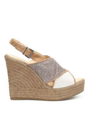 Espadrilles: sandals - Skype criss cross straps sandals