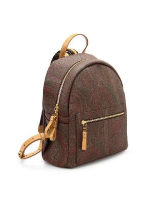 Etro: backpacks online - Paisley pattern backpacks