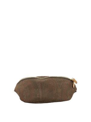 ETRO: belt bags - Paisley print belt bag