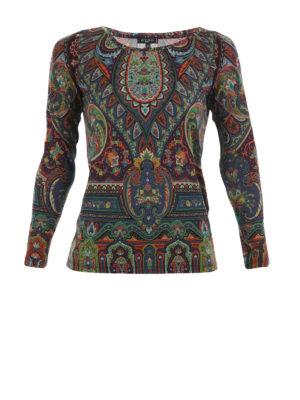 Etro: blouses - Boat-neck blouse