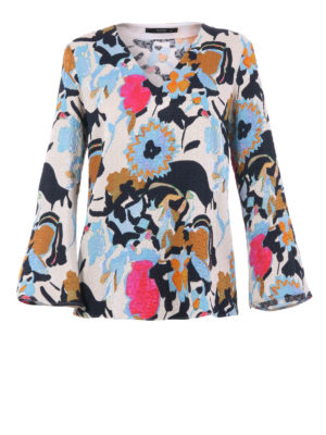 Etro: blouses - Floral patterned blouse