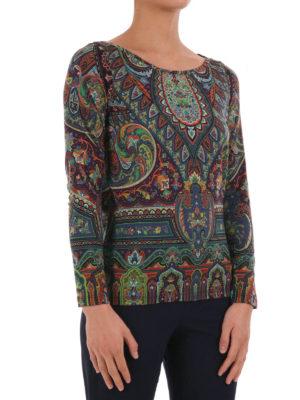 Etro: blouses online - Boat-neck blouse