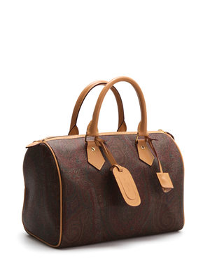 Etro: bowling bags online - Paisley bowling bag