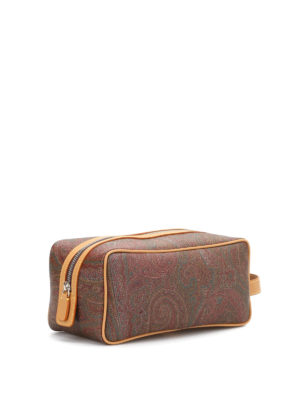 Etro: Cases & Covers online - Paisley print beauty case