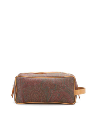 Etro: Cases & Covers - Paisley print beauty case