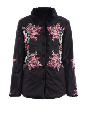 Etro: casual jackets - Paisley pattern reversible jacket