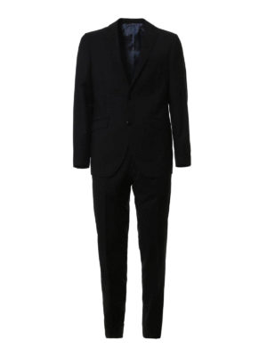 Etro: casual suits - Lined casual wool suit