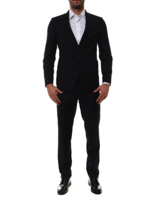 Etro: casual suits online - Lined casual wool suit