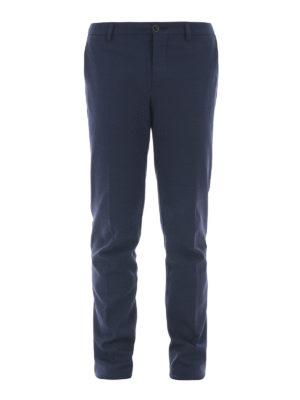 Etro: casual trousers - Cotton blend trousers