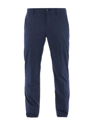 Etro: casual trousers - Cotton classic trousers