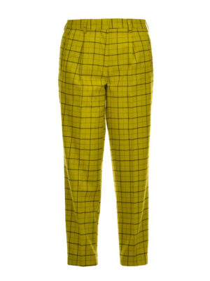 Etro: casual trousers - Flare cotton trousers
