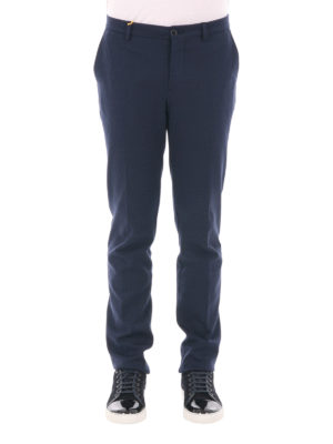 Etro: casual trousers online - Cotton blend trousers
