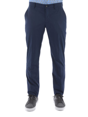 Etro: casual trousers online - Cotton classic trousers