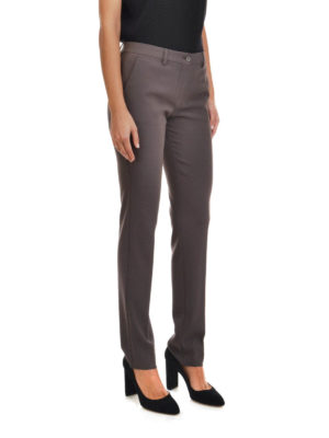 Etro: casual trousers online - Slim fit chino trousers