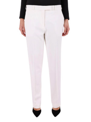 Etro: casual trousers online - Stretch viscose wide leg trousers