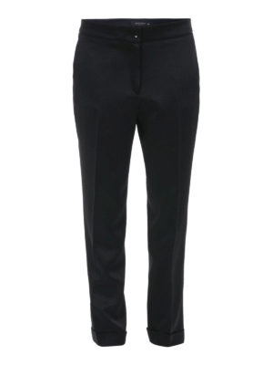 Etro: casual trousers - Turn-ups detailed trousers