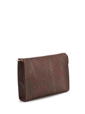 Etro: clutches online - Paisley clutch