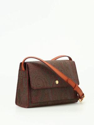Etro: cross body bags online - Paisley pattern cross body bag