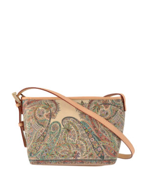 Etro: cross body bags - Paisley cross body bag