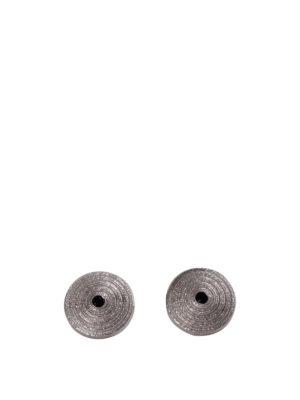 Etro: Cufflinks - Silver cufflinks