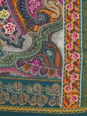 ETRO: sciarpe e foulard online - Sciarpa Delhy in lana e seta jacquard Paisley