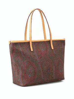 ETRO: shopper online - Shopper Paisley impermeabile