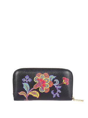 ETRO: portafogli online - Portafoglio zip-around Rainbow Soft Chameleon