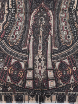 Etro: scarves online - Delhy cashmere and silk scarf