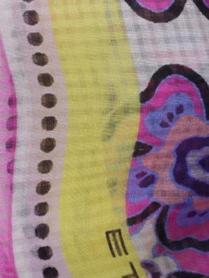 Etro: scarves online - Linen blend scarf