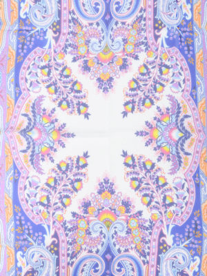 Etro: scarves online - Paisley pattern silk scarf