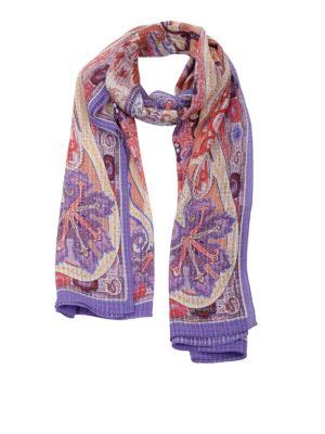 Etro: scarves - Silk scarf