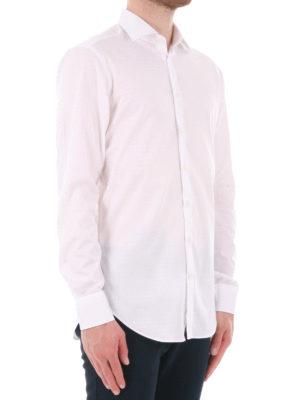 Etro: shirts online - Houndstooth cotton shirt