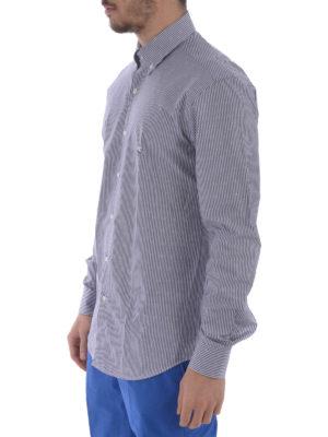 Etro: shirts online - Jacquard cotton b/d shirt