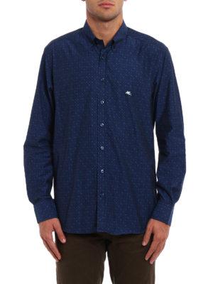 Etro: shirts online - Jacquard cotton shirt