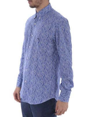 Etro: shirts online - Paisley cotton b/d shirt