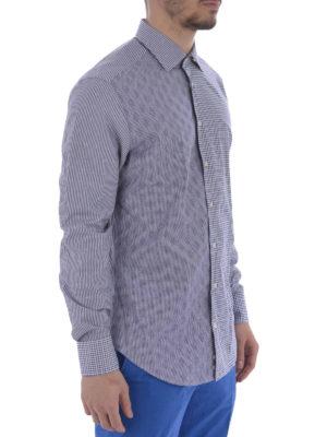 Etro: shirts online - Patchwork cotton shirt