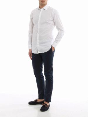 Etro: shirts online - Poplin cotton classic shirt