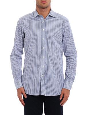 Etro: shirts online - Striped cotton shirt