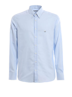 Etro: shirts - Oxford cotton button down shirt