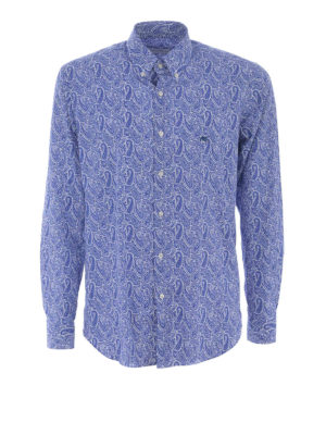 Etro: shirts - Paisley cotton b/d shirt