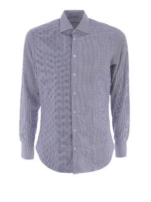 Etro: shirts - Patchwork cotton shirt