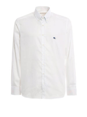 Etro: shirts - Poplin button down shirt