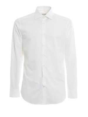 Etro: shirts - Poplin cotton classic shirt