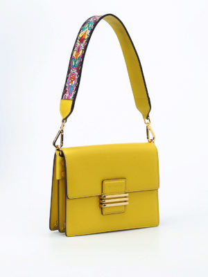 Etro: shoulder bags online - Rainbow monogram closure small bag
