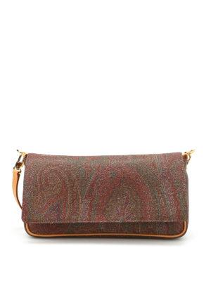 Etro: shoulder bags - Paisley pattern shoulder bag