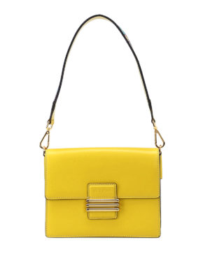 Etro: shoulder bags - Rainbow monogram closure small bag