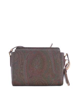 Etro: shoulder bags - Russel Cashmere print shoulder bag