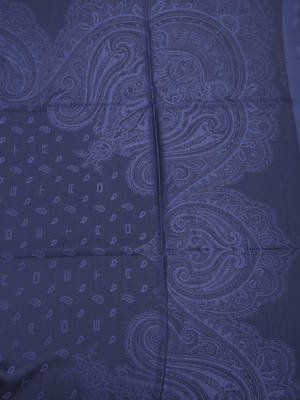 Etro: Stoles & Shawls online - Paisley silk and wool shawl